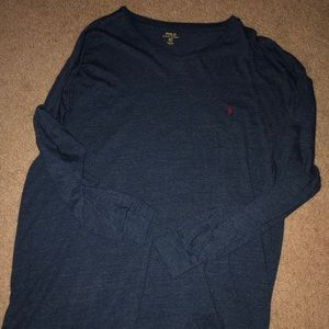 Polo Ralph Lauren Long Sleeve V-Neck Tee